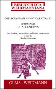 Priscianus, De accentibus